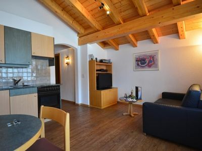 Photo for One bedroom Apartment, sleeps 3 in Saas-Fee with WiFi