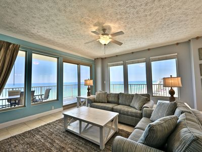 Photo for 3BR Gulf Crest End Unit!!!! Sleeps 10!! Includes Beach Chairs!