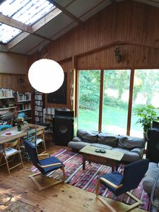 Photo for Atypical artist's cottage full nature 6km from the sea