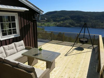 Photo for Vacation home Vik (SOW112) in Eikerapen - 6 persons, 3 bedrooms