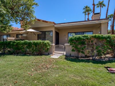Photo for Dog-friendly condo w/ golf course & mountain views plus a shared pool & spa