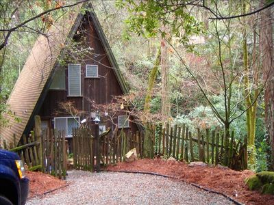 Photo for Cottage on the Creek/Nestled Under the Redwoods