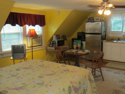 Photo for Garage Apartment on the Golf Course 3 miles from Downtown