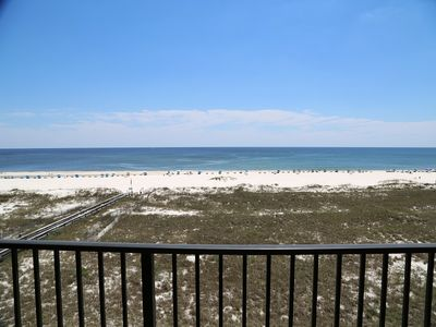 Photo for April SALE! Phoenix 7 503 Spacious Direct Gulf Front condo / Indoor Pool / Walk to Dining & Shopping