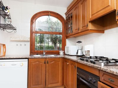 Photo for Apartment 961 m from the center of Calonge with Parking, Washing machine, Pool, Garden (88611)