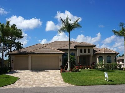Photo for Luxury Gulf Access Vacation Home in SE Cape!