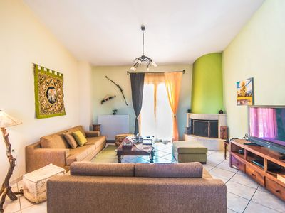 "Photo for We welcome you to our Comfortable and spacious ""ALKINOI"" Apartment."