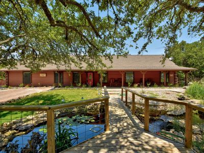 Photo for Lonesome Dove Lodge - Spacious One-Level Cabin w/Tons of Outdoor Amenities