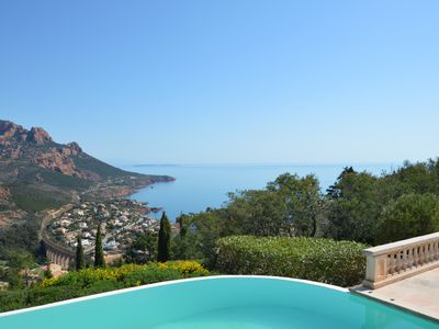 Photo for Beautiful Villa 6 people sea view and pool