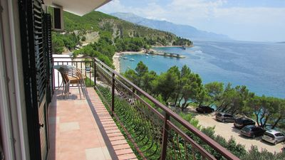 Photo for Beautiful apartment offers  a nice terrace overlooking the sea, which is reachable in only 40 metres