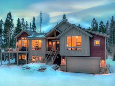 Photo for Custom Private Home Peak 7 - Outdoor Grill and Hot Tub-Free Lift Ticket for Feb!