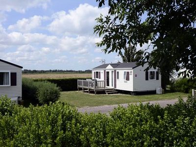 Photo for Camping Les Peupliers **** - Mobil Home Prestige 4 Rooms 6/8 People