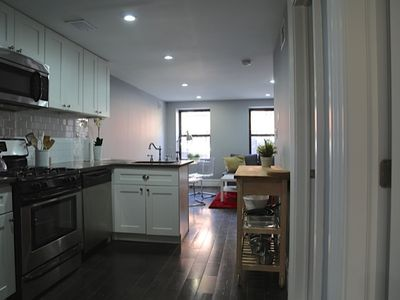 Photo for Stylish 2 bedroom oasis in vibrant Brooklyn neighborhood 20 mins from city!
