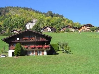 Photo for South facing apartment facing the Aravis chain 300 m from the center and the ski lifts