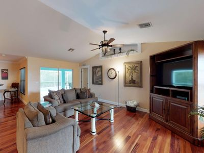 Photo for Relax & Refresh! SW Cape Coral Heated Pool Home, Quiet Neighborhood, Free WiFi, Garage Parking