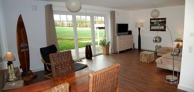 Photo for Apartment (56 m²) in the metropolitan region of Hamburg and yet idyllically located