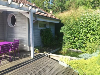 Photo for Charming chalet, Gerardmer center, close to ski and lake. Panoramic lake / forest view