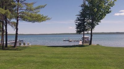 Private lakefront with your own beach and boat hoist.