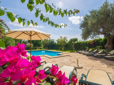 Photo for ☼ Lovely house with pool, table tennis, 10 minutes drive to the beach