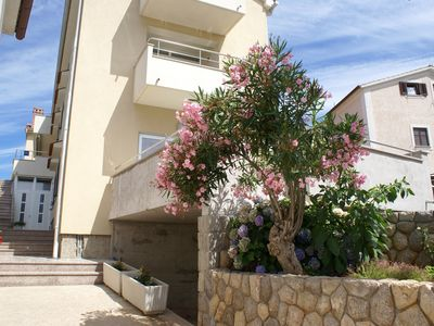 Photo for Holiday apartment with air conditioning, just 50 meters from the sea