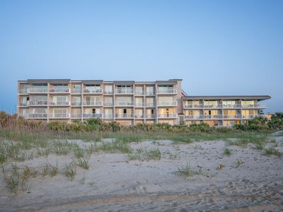 View of Beach House Building from the beach