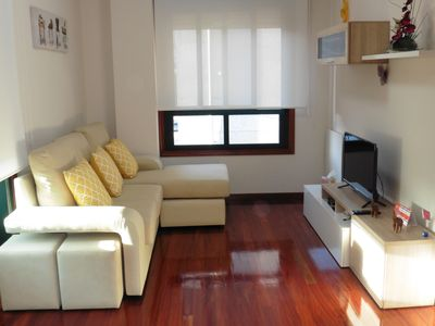 Photo for FLAT 2 BEDROOMS 200 m. BEACH RODEIRA (CANGAS DO MORRAZO)