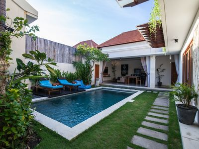 Photo for Chic 2BR Villa Seminyak next to Beach - Timgad