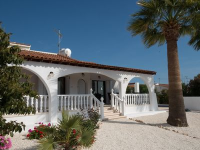 Photo for Private 3 Bedroom Villa, Set In Own Grounds, Swimming Pool, Views Over Countrysi