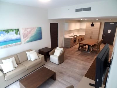 Photo for BRAND NEW 1 Bedroom with 2 sofabeds Beach Paradise