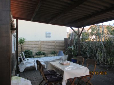 Photo for Rentals with garden and terrace A Banyuls Sur Mer;