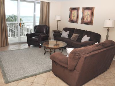 Photo for 20% off Fall rates !! Spacious, Oceanfront- 4 bedroom/ Beautiful View