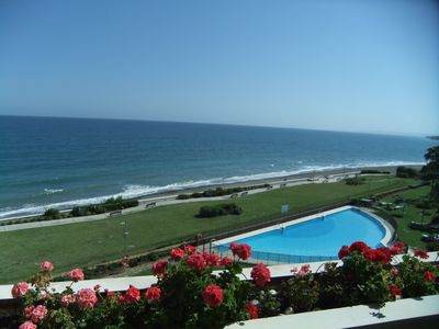Photo for Frontline beach spectacular views West Marbella. Great on-site facilities