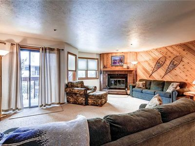 Photo for Lovely condo with a mountain feel, in-town with access to on-call shuttle