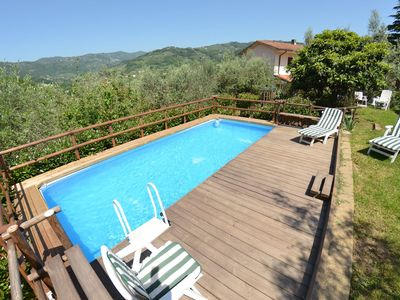 Photo for Wonderful  villa for 4 guests with private pool, WIFI, veranda, panoramic view and parking