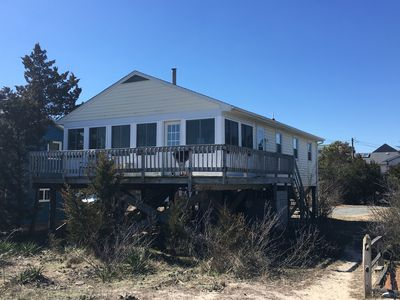Photo for Beachfront! Beautiful Quiet Broadkill!, 3BR,1.5bth, Outdr Shwr, Sleeps 6-8