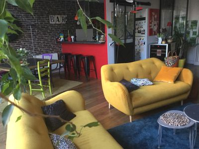 Photo for LOFT VERY BRIGHT AND QUIET 100 M FROM THE PARK OF BUTTES CHAUMONT