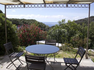 Photo for Apartment in a hilly area 1km from the sea.