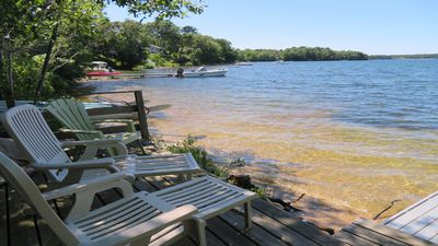 Photo for Harwich Family Tides - 5 bedroom home w/ deeded access to Long Pond & near bike trail - Central air!