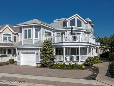 Photo for 2nd from the Beach in the South End of Avalon, this magnificent 6 bdrm, 5 1/2 bath, 4,300 sq. ft.