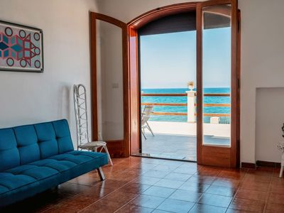 Photo for Marina di Caronia Apartment, Sleeps 3 with Free WiFi