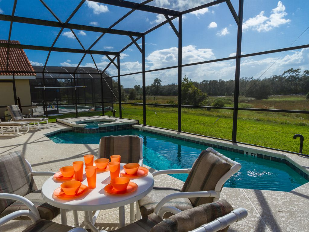 Orlando Pool Home With Great View Near Disney And Golf