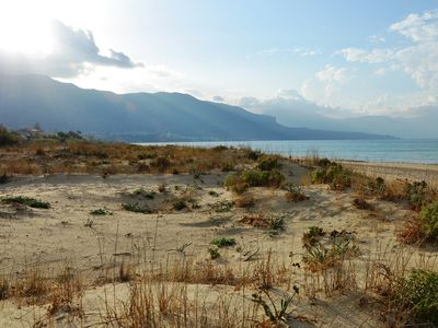Photo for Villa on the beach with views on the sea and close to Castellammare del Golfo