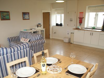 Photo for A beautifully fitted contemporary holiday home walking distance from Angle Beach