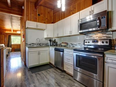 Photo for Renovated Alaskan Traditional with airport, parks, highway access nearby