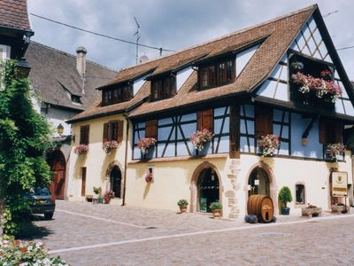 Photo for KIENTZHEIM LARGE CHARMING GITE LOCATED IN THE CENTER OF THE VILLAGE