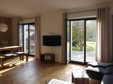 Spacious apartment on the Müritz - rest, water and nature