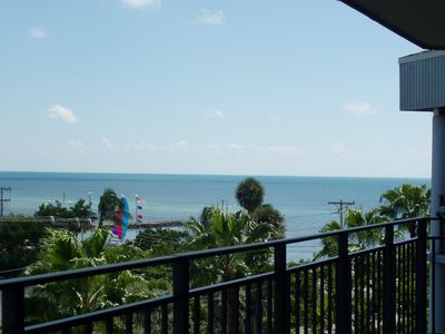 View Of Smathers Beach From The Balcony