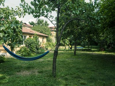 Photo for Romantic apartment with garden, in the middle of the Navigli