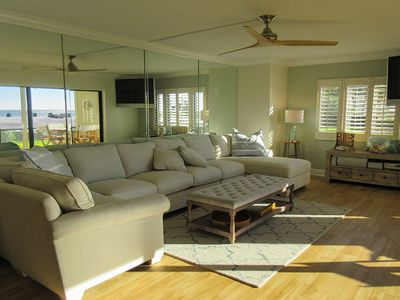 Photo for Luxury Sandarac Beachfront 2B/2B Vacation Condo w/ Gorgeous Gulf View, Resort Pool, + PRIVATE Deck!