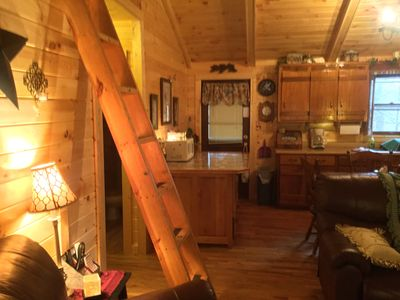 Photo for Secluded Cabin with Hot Tub,W/D, loft-Va Creeper Trail/Mountains, ATV rentals